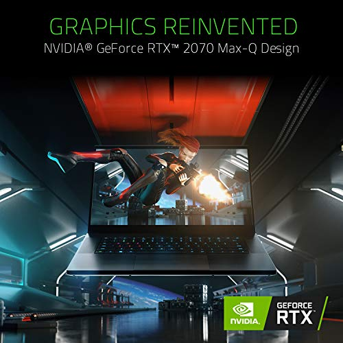 Razer Blade 15 Gaming Laptop 2019: Intel Core i7-9750H 6 Core, NVIDIA GeForce RTX 2070 Max-Q, 15.6
