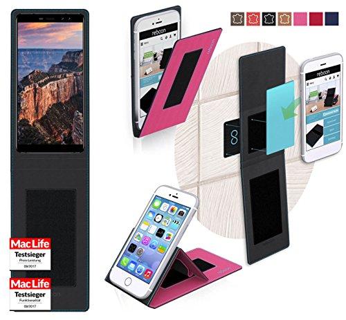reboon Hülle für M-Horse Pure 1 Tasche Cover Case Bumper | Pink | Testsieger