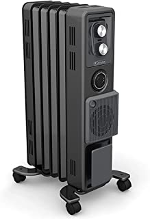 Dimplex Oil Free Column Heater with Timer and Turbo Fan, 1.5 kw, Anthracite Finish
