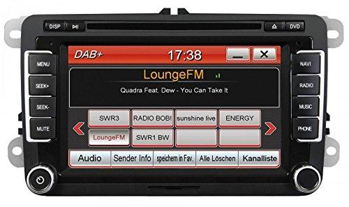 ESX Naviceiver VN710-VW-P1-DAB Autoradio Multimedia für VW Golf 5 und Andere Modelle