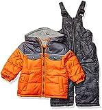 iXtreme Baby Boys Snowsuit, Orange, 24M