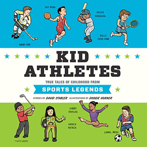 Kid Athletes audiobook cover art
