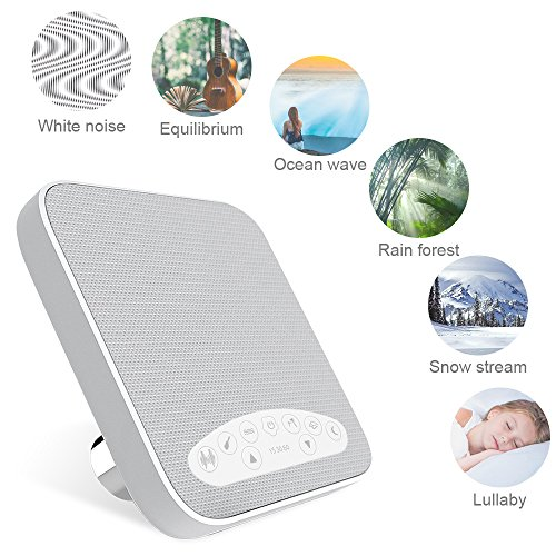 White Noise Machine, Sound Machines for Sleeping,...
