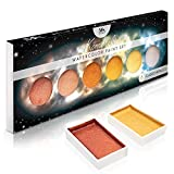 Komorebi Metallic Watercolor Paint Set – Set of 6 Shimmery Premium Colors – Portable and Lightweight – Perfect for Artists, Students, Kids & Hobbyists