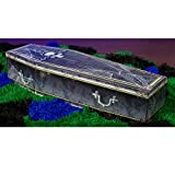 Standard 3D Halloween Creepy Coffin Standup Photo Booth Prop Background Backdrop...