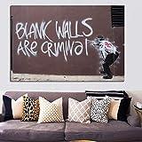 Resumen Pop Art Graffiti Street Art Carteles e impresiones de pared Pintura sobre lienzo Home Wall Picture Living Room Decor 20x30cm