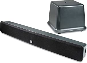 Boston Acoustics TVee Model 2 Sound System with Sleek Sound Bar and Wireless ...