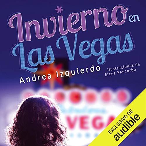 Diseño de la portada del título Invierno en Las Vegas (Narración en Castellano)