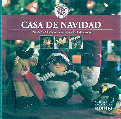 Casa de Navidad. Muñecos, Decoración en tela, Adornos