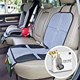 BB Driver Car Seat Protector for Child Car Seat - Upholstery and Leather Seat Protector for Car Seats - Premium Hand-Sewn Carseat Mat