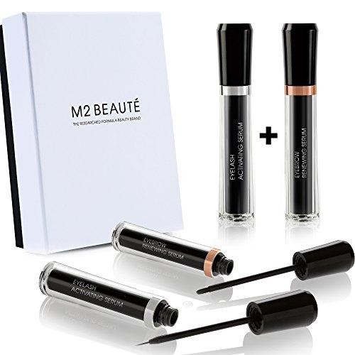 Pestañas y Cejas Set | m2lashes m2brows & m2beaute caja