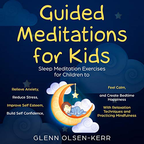 Guided Meditations for Kids audiobook cover art