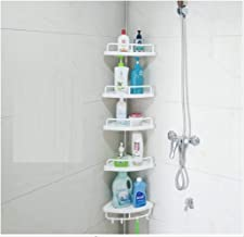 Free Punch Top Stand Bathroom Bathroom Rack Wall Hanging Toilet Toilet Shelf Sewing Organizer 4 Layer Storage Tray (Applic...