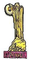 【ノーブランド品】アイロンワッペン  ロック バンド 音楽(バンド) ワッペン 刺繍ワッペン LED-ZEPPLIN アイロンで貼れるワッペン
