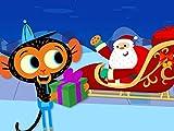 A Mr. Monkey, Monkey Mechanic Christmas: Santa's Sleigh Needs Major Repairs