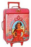 Disney Elena de Avalor Maleta de cabina Rojo 35x50x16 cms Blanda Poliéster 25L 1,8Kgs 2 Ruedas Equipaje de Mano
