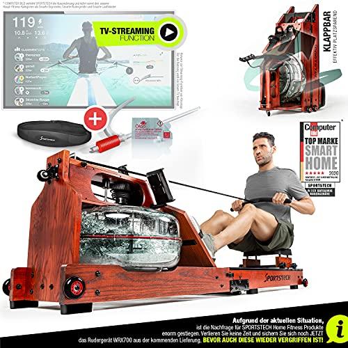 Sportstech WRX700 Wasser Rudergerät