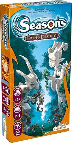 Asmodee - SEAS03 - Jeu de Cartes - Seasons - Extension - Path Of Destiny