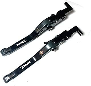 CNC allungabile pieghevole moto regolazione del freno leve frizione per Yamaha TMAX500/2001/ /2007