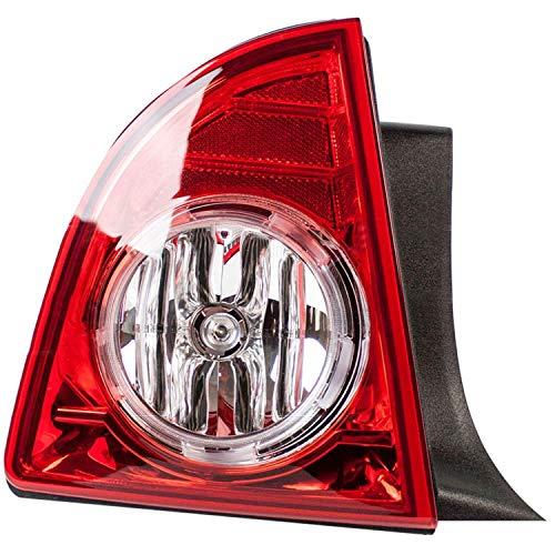 Headlights Depot Aftermarket Replacement Fits Chevrolet Malibu LTZ Model LED Type Left Driver Assembly