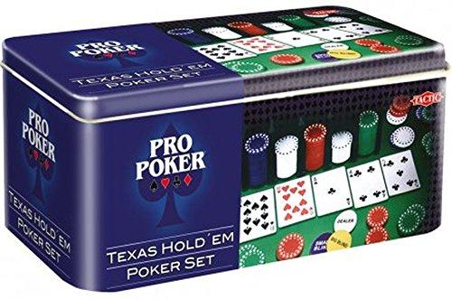 Tactic O3095 - Pro Poker Texas Hold\'em Poker Set [UK Import]