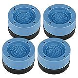 Ammortizzatori per lavatrice, 4 pezzi, tappetini universali antivibrazione, tappetino antiscivolo, antivibrazioni, ammortizzatori, cuscinetti in gomma per lavatrici e asciugatrice