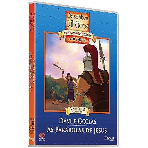 Desenhos Biblicos - Vol.18 - Davi E Golias/As Parobolas De Jesus