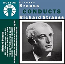 Clemens Krauss conducts Richard Strauss - Till Eulenspiegel & Le Bourgeois Gentilhomme