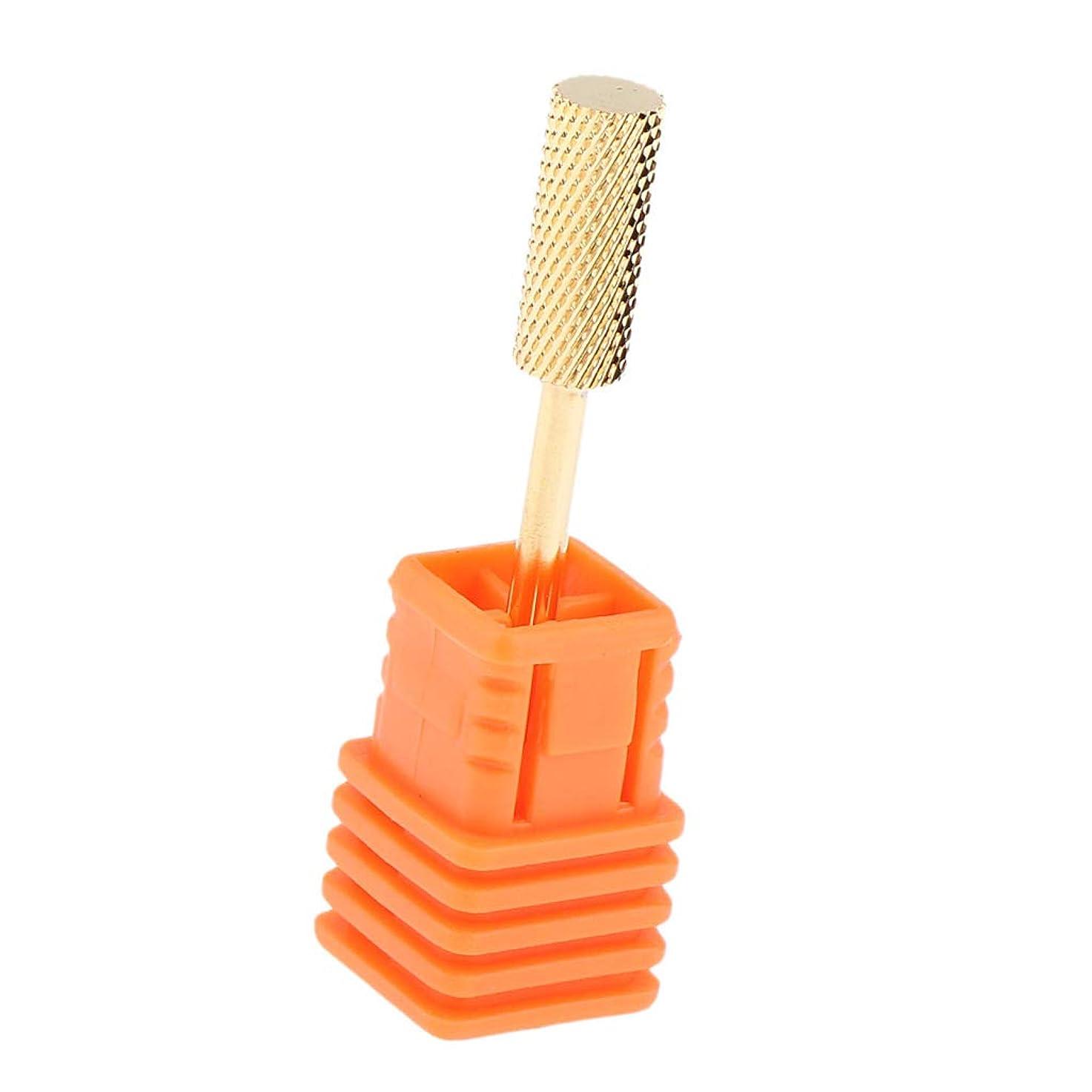 リーフレット十二北米B Baosity ネイルドリルビット 電気 ネイルファイル マニキュア ヘッド 4タイプ選べ - F