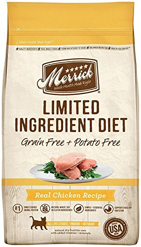 Merrick Grain Free Limited Ingredient Diet Chicken Recipe 4.0 lb Bag