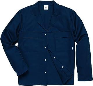 Mayo Hardwearing Work Jacket Coat 4 Pockets Stud Front Workwear Uniform S - 3XL (XX-Large)