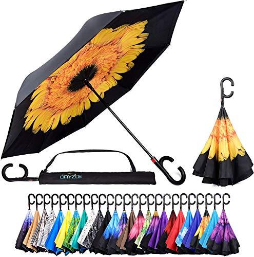 Paraguas invertido adentro hacia afuera Protección