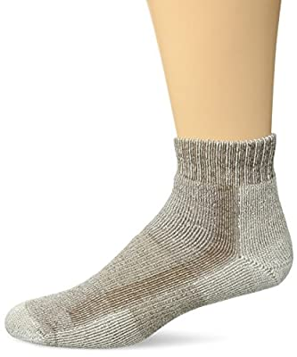 Thorlos LTHMX Max Cushion Hiking Ankle Socks, Walnut, Extra Large