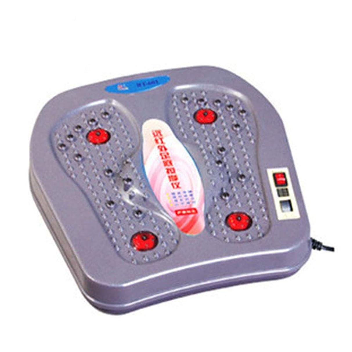 リビジョン憂鬱マニアック調整可能フル足マッサージの経験のための熱指圧の足のマッサージ機械が付いている足のマッサージャーは、疲れて痛む足を緩めます リラックス