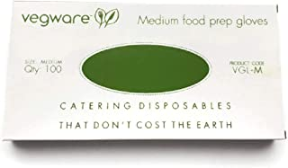 Disposable Food Prep Gloves – Compostable Latex-Free Gloves Made of Plant-Based PLA - Pack of 100; Large – Your Perfect Pa...