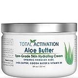 Hawaiian Bio Organic Aloe Vera Cream Regenerating Feuchtigkeitscreme Für Körper- & Gesichtscreme...