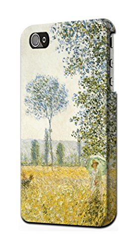 R2682 Claude Monet Fields in Spring Case Cover for iPhone 5 5S SE