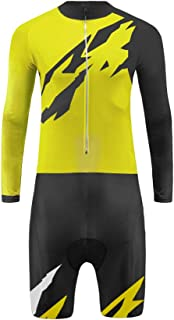 Uglyfrog 2017 New Men's Breathable Summer Skinsuit Long Sleeve Cycling Kit with Gel Pad Outdoor Sports Wear Triathon Clothing CCJ09