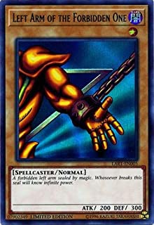 Yu-Gi-Oh! Singles - Left Arm of The Forbidden One - LART-EN005 - Ultra Rare - Limited Edition