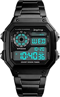 Digilog Block Digital Multi-Function Digital Watch for Men & Boys