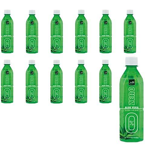 6L Aloe Vera Drink ZERO ohne Zucker 12x 500ml original AloeVera Saft mit Fruchtstückchen