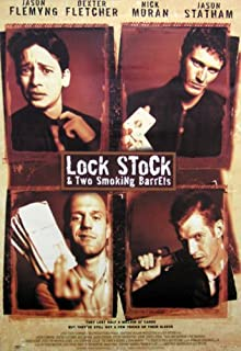 Lock, Stock And Two Smoking Barrels - Movie Poster (Size: 27'' x 40'')