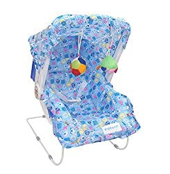 eHomeKart Carry Cot Cum Bouncer - 10 in 1 - Feeding Chair, Baby Carrier, Baby Chair, Rocker, Bath TUB, Carrying, Bouncer, Storage Box & Baby Swing with Mosquito Net(Pink) (Pink),Pioneer - Playtool