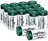 Rapthor CR123A 3V Lithium Batterie 16er Pack 1650mAh für Arlo Kamera, Polaroid, Taschenlampe, hohe...