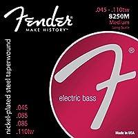 Fender Bass Strings Nickel Plated Steel 8250M 45-110 エレキベース弦×2セット