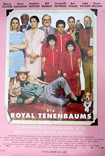 Die Royal Tenenbaums - Filmposter A1 84x60cm gerollt