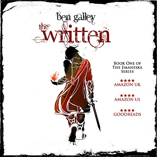 The Written audiobook cover art