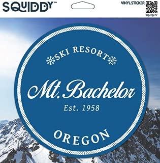 Squiddy Mt Bachelor Oregon - Vinyl Sticker (7