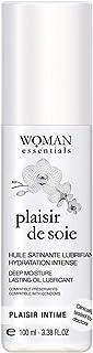 Woman Essentials - PLAISIR DE SOIE Diep en Langdurig Vochtinbrengende Massageolie en Intiem Glijmiddel. 100% gemaakt in Fr...