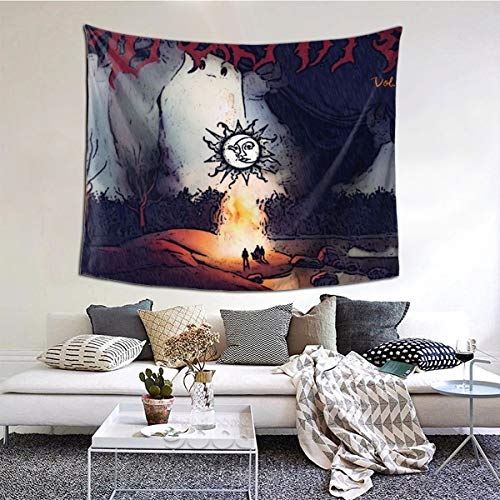 LuchinoVisconti Stone Sour Through Glass Wall Tapestry Wall Hanging Tapestry for Bedroom Living Room Dorm Decor in 51x60 in